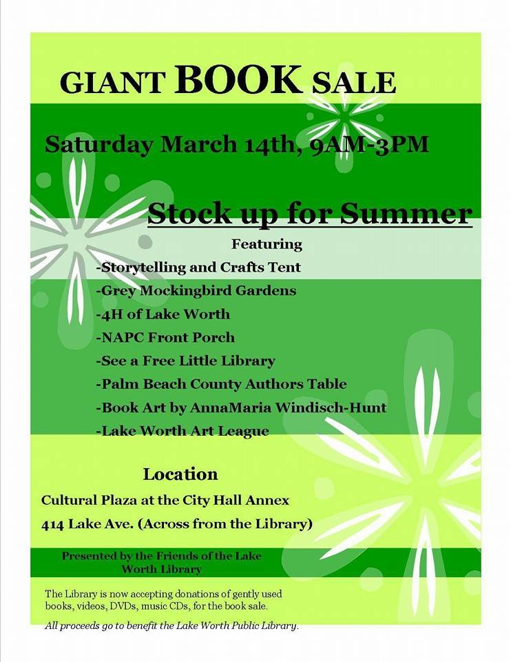 Giant Book Sale flyer-2